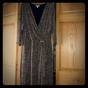 Gorgeous Charter Club faux wrap dress.